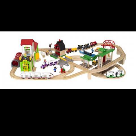 Brio Kæmpe togbanesæt billede