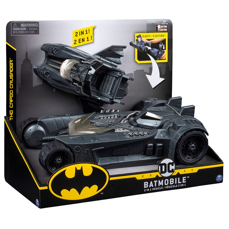 Batman Batmobile for 10cm figures billede