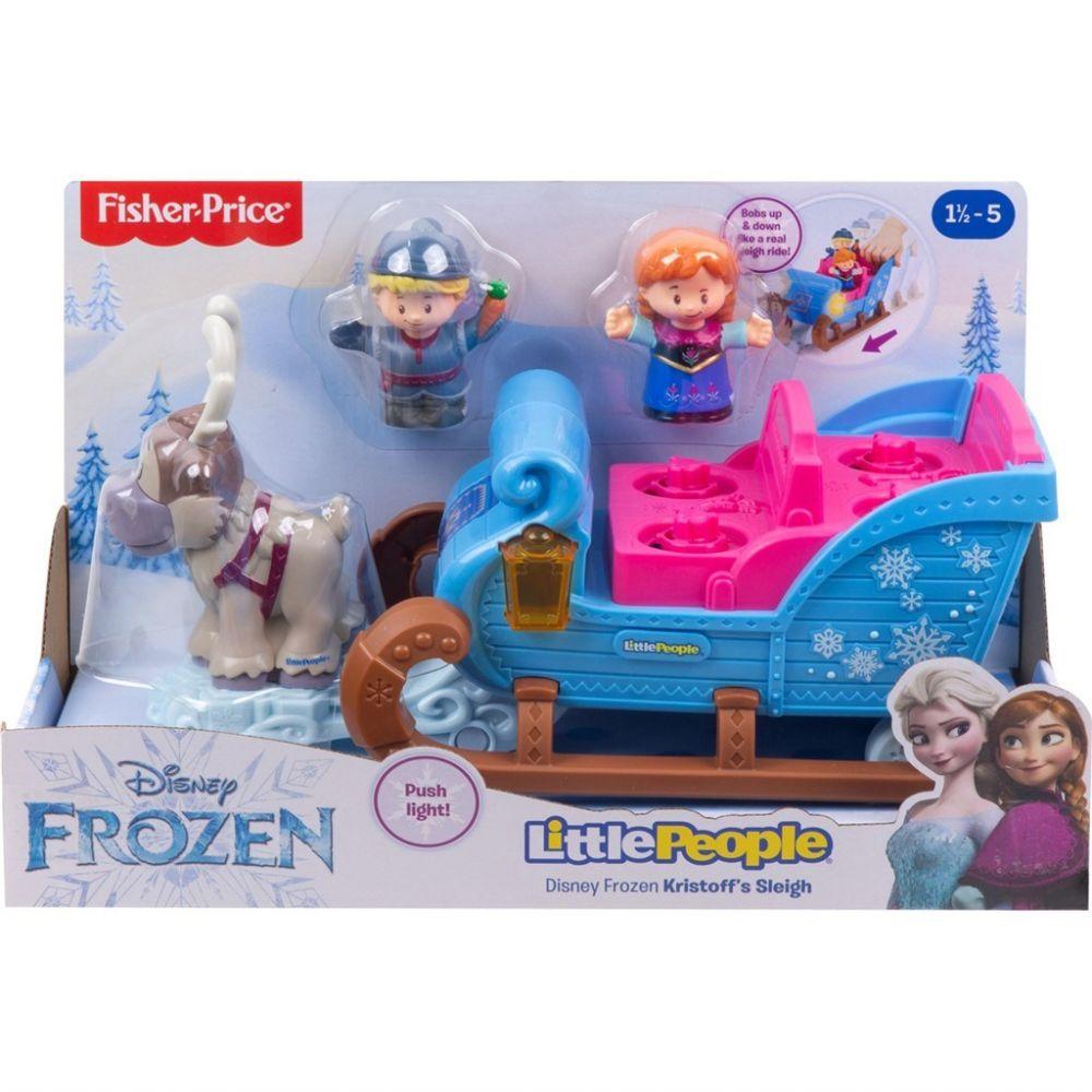 Fisher-Price LP Frozen Kristoffs Sleigh billede